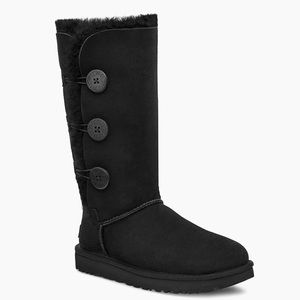 Ugg Bailey Triplet Button Boots, Size 9